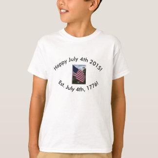 Happy July 4th, 2015! Kid's Shirt