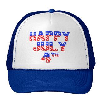 Happy July 4th Trucker Hat