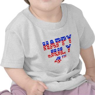 Happy July 4th T Shirts