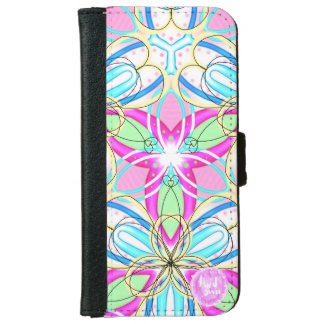 Happy Kaleidoscope iPhone 6/6s Wallet Case