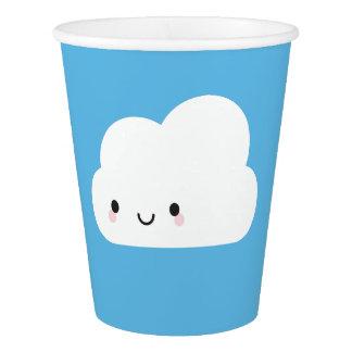 Happy Kawaii Cloud Paper Cup