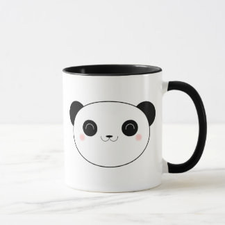 Happy Kawaii Panda Bear Mug