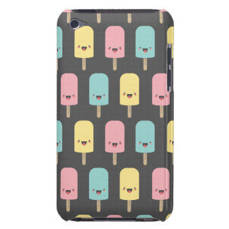 Happy Kawaii Popsicle Ice Lolly Pattern Barely There iPod Covers