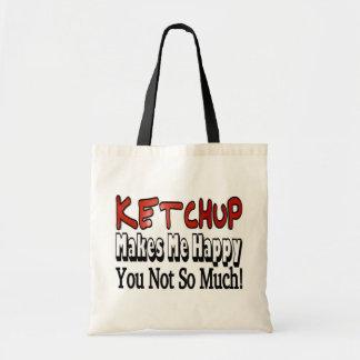 Happy Ketchup Budget Tote Bag