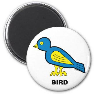 Happy Kids Bird Magnet
