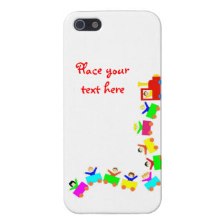 Happy Kids Train iPhone 5 Covers