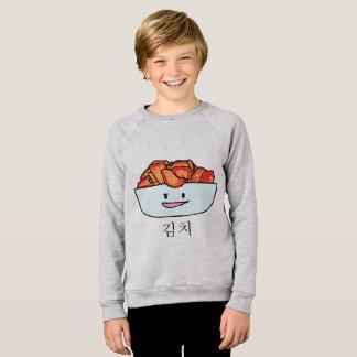 Happy Kimchi Kimchee Bowl - Happy Foods Designs Sweatshirt