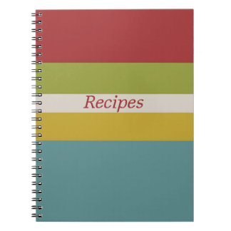 Happy Kitchen Recipe Notebook