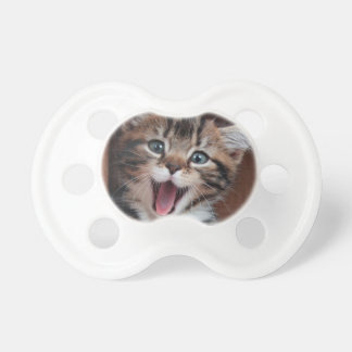Happy kitty baby pacifiers
