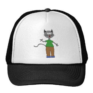 happy kitty hat