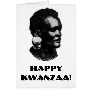 Happy Kwanzaa! Card
