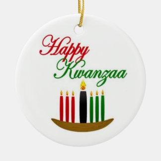 Happy Kwanzaa Holiday Ornaments