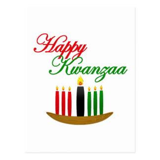 Happy Kwanzaa Postcard