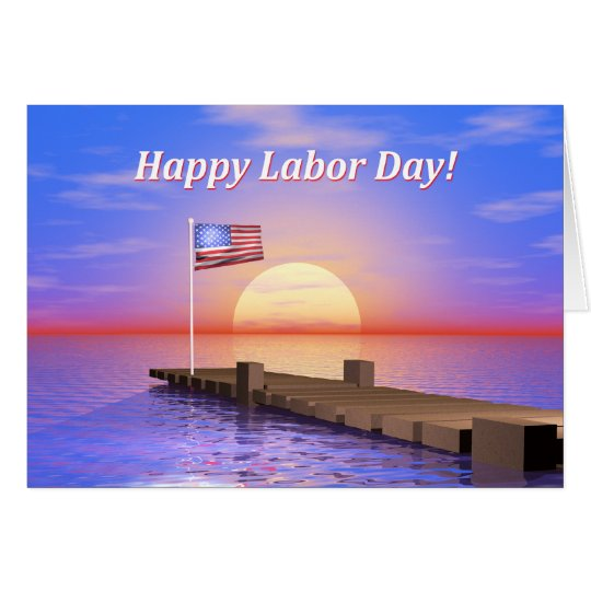 Happy Labour Day Dock Card