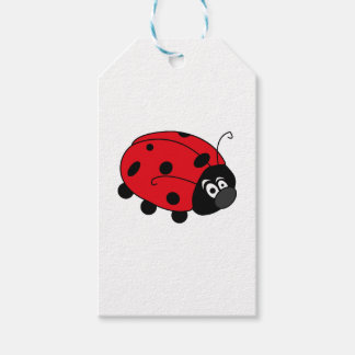 Happy Lady Bug Gift Tags
