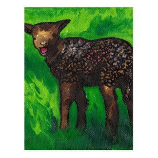 Happy Lamb Postcard