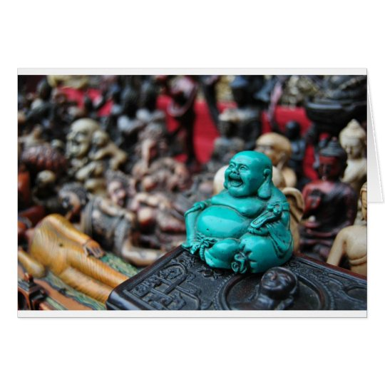 Happy/ laughing buddha! card