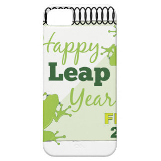 Happy Leap Year Feb 29 iPhone 5 Cases
