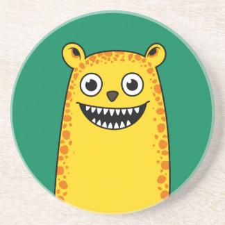 Happy leopard coasters