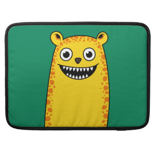 Happy leopard sleeve for MacBook pro