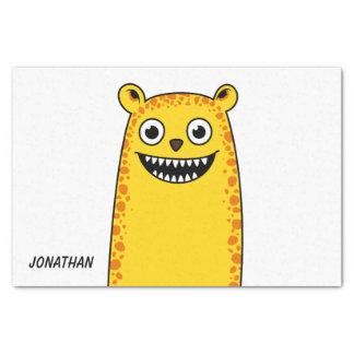 Happy leopard tissue paper