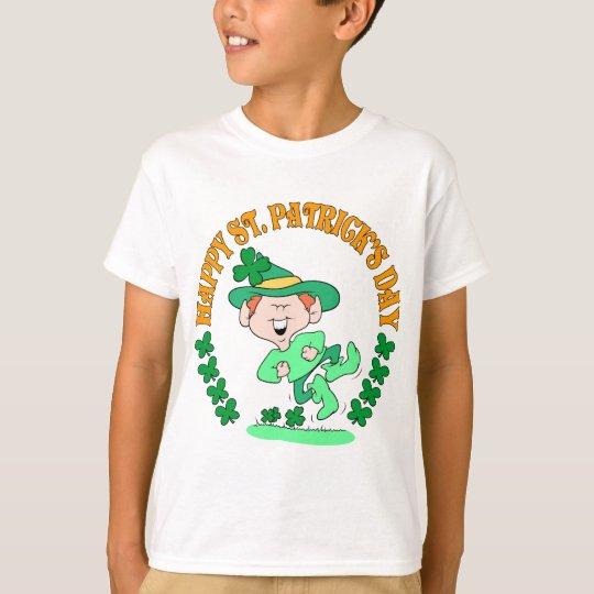 Happy Leprechaun Kids Shirt
