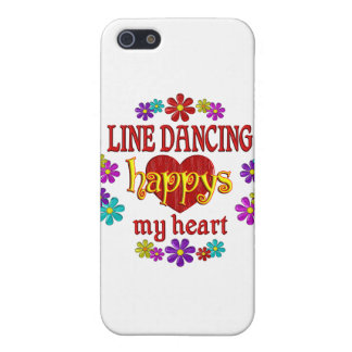 Happy Line Dancing Covers For iPhone 5