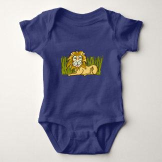 Happy Lion Baby Jersey Bodysuit