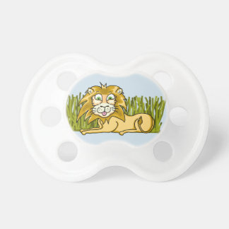 Happy Lion BooginHead® Custom Pacifier