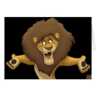 Happy Lion Card (Blank Inside)