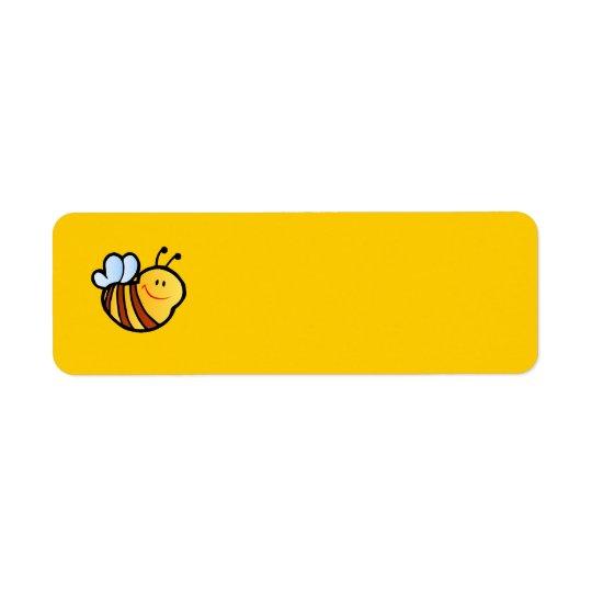 HAPPY LITTLE BUMBLEBEE BEE CARTOON CUTE HONEY INSE