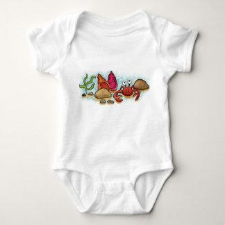 Happy Little Crab Baby Bodysuit