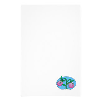 happy little eggplants personalized stationery