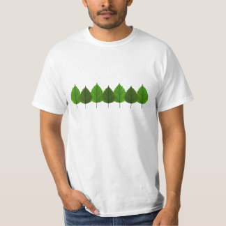 Happy Little Green Tree Leaf Forest T-Shirt