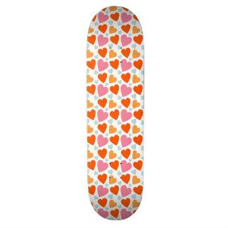 Happy Little Hearts Skateboard