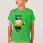 Happy Little Leprechaun Kids' Green T-Shirt
