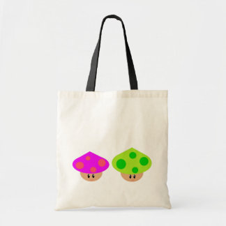 Happy Little Mushrooms Budget Tote