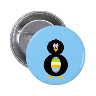 Happy Little Penguin button