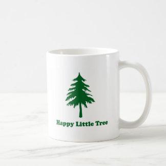 Happy Little Tree Basic White Mug