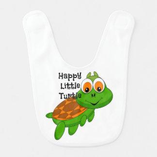 Happy Little Turtle Baby Bib