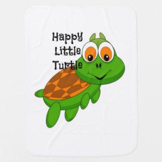 Happy Little Turtle Baby Blanket