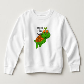 Happy Little Turtle Sweatshirt CUSTOMIZABLE