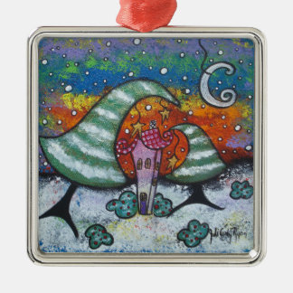 Happy Little Winter Christmas Ornament