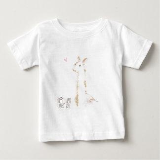 Happy Llama Loves You Baby T-Shirt
