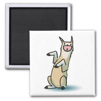 Happy Llama Magnet