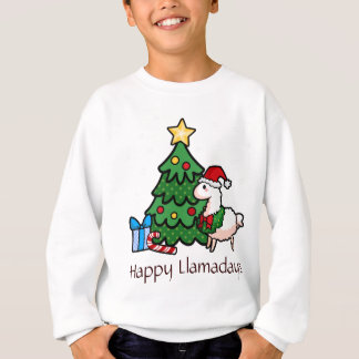 Happy Llamadays Sweatshirt