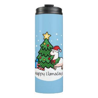 Happy Llamadays Thermal Tumbler