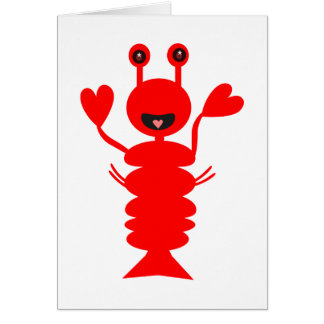 Happy Lobster 22 Card
