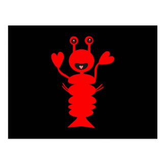 Happy Lobster Too Postcard