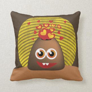 Happy Love Volcano Cushion